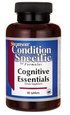 Swanson cognitive essentials 60 tablets / Суонсън Добавка за мозъка 60 таблетки