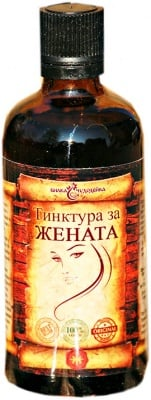 Herb Chudodeyka tincture For Women 100 ml. / Билка Чудодейка тинктура За жената 100 мл.