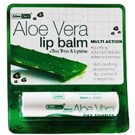 Aloe Dent Aloe Vera Lip balm 4 g. Optima / Алое Вера Балсам за устни 4 гр. Оптима