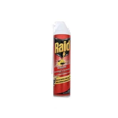 Raid foam agains creeping insects 400 ml. / Райд пяна за пълзящи насекоми червен 400 мл.