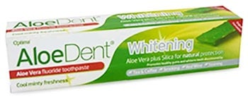 Aloe Dent Whitening fluoride toothpaste 100 ml. / Паста за зъби Алоедент избелваща 100 мл.