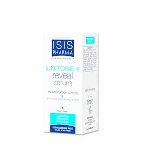 Unitone 4 Reveal serum Pigmentation spots intensive revealin serum 15 ml.Isispharma / Унитон 4 Ревийл серум за изсветляване на тъмни петна 15 мл.