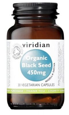 Organic black seed 450 mg 30 c