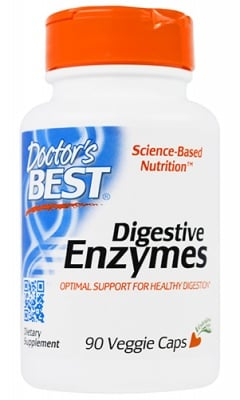Doctor's Best Digestive enzymes 90 capsuels / Доктор'с Бест Храносмилателни ензими 90 капсули