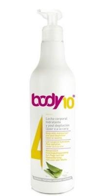 Body 10 N4 Moisturizing body milk after depilation 500 ml. / Боди 10 N4 Хидратиращо мляко за тяло след епилация 500 мл.