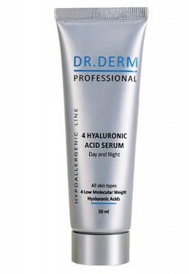 Dr. Derm Professional 4 hyaluronic acid serum 50 ml. / Доктор Дерм Профешънъл серум с хиалуронова киселина 50 мл.