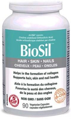 Biosil Hair, Skin & Nails 118 mg. 90 capsules Natural Factors / Биосил Коса, Кожа и Нокти 118 мг. 90 капсули Натурал Факторс