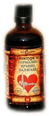 Herb Chudodeyka tincture for normal blood pressure 100 ml. / Билка Чудодейка тинктура за нормално кръвно налягане 100 мл.
