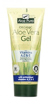 Aloe Pura Aloe Vera gel with vitamins A, C and E dry and Damaged skin 200 ml. / Алое Вера Почистващ гел с Витамини А, Ц и Е за суха и увредена кожа 200 мл.