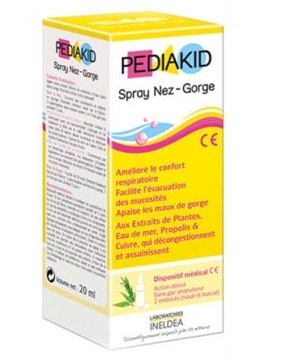Pediakid nose and throat spray 20 ml. / Педиакид нос и гърло спрей 20 мл.