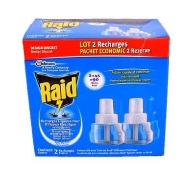 Raid electric liquid 2 pcs. / Райд пълнител течен 2 броя