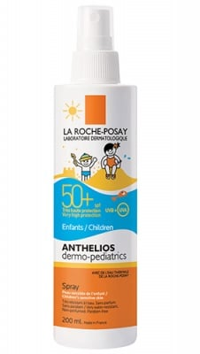 La Roche ANTHELIOS SPF 50+ dermo-pediatrics kids spray 200 ml / Ла Рош АНТЕЛИОС SPF 50+ слънцезащитен спрей за деца 200 мл.