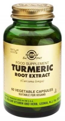 Turmeric root extract 60 capsules Solgar / Екстракт от куркума 60 капсули Солгар