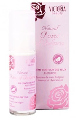 Victoria beauty Natural Rosses of Bulgaria Anti - Wrinkle eye contour cream 30 ml. / Виктория бюти натурал Роза околоочен крем против бръчки 30 мл.