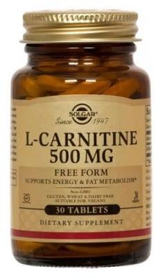 L - Carnitine 500 mg 30 tablets Solgar / L - Карнитин 500 мг. 30 таблетки Солгар