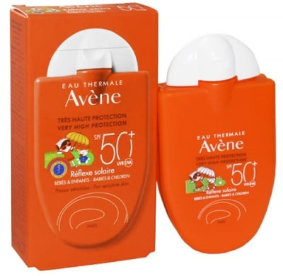 Avene Sun protection emulsion reflex for babies and kids SPF50+ 30 ml. / Авен Слънцезащитна емулсия Рефлекс за бебета и деца SPF50+ 30 мл.