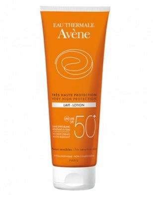 Avene Sun protection lotion SPF50+ 250 ml. / Авен Слънцезащитен мляко SPF50+ 250 мл.