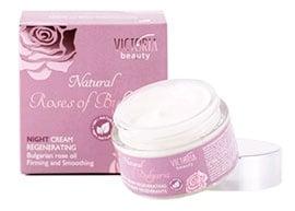 Victoria beauty Natural Rosses of Bulgaria Regenerating night cream 50 ml. / Виктория бюти Натурал Роза Регенериращ нощен крем 50 мл.