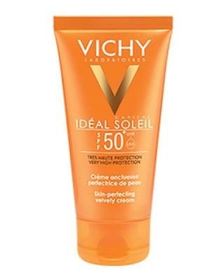 Vichy Ideal soleil Velvety cream face SPF 50 50 ml. / Виши Солейл Слънцезащитен крем за лице SPF 50 с кадифена текстура 50 мл.