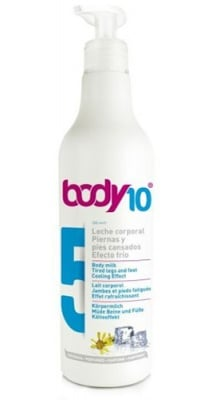 Body 10 N5 body milk with a cooling effect for tired legs 500 ml. / Боди 10 N5 Mляко за тяло с охлаждащ ефект за уморени крака 500 мл.