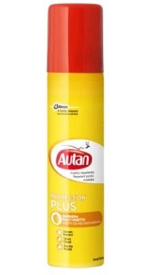 Autan Protection Plus Spray 100 ml / Аутан Протекшън Плюс Спрей 100 мл.