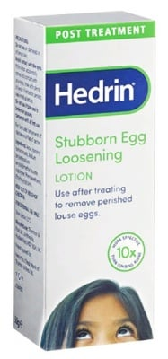 Hedrin Stubborn Eggs Loosening Lotion 50 g. / Хедрин Стубборн Лосион за премахване на упорито залепнали гниди 50 гр.