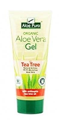 Aloe Pura Aloe Vera gel with antiseptic tea tree dry and damaged skin 200 ml. / Алое Вера Успокояващ гел с масло от чаено дърво за суха и увредена кожа 200 мл.