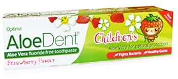 Aloe Dent Childrens fluoride free toothpaste 50 ml. / Паста за зъби Алоедент детска 50 мл.