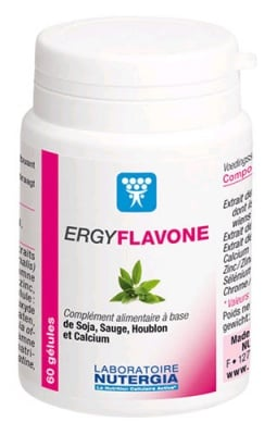 Ergyflavone 60 capsules Nutergia / Ержифлавон 60 капсули
