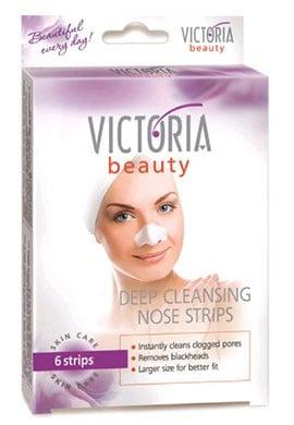Victoria beauty Deep cleansing nose strips 6 / Виктория бюти Ленти за почистване на нос 6 броя.