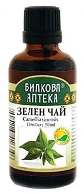 Green Tea tincture 50 ml. Herbal Pharmacy / Тинктура Зелен чай 50 мл. Билкова Аптека