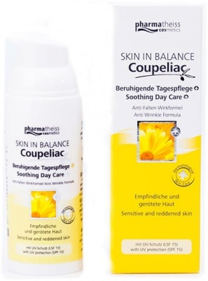Coupeliac Soothing Day Care 50 ml. / Купелиак Дневен Успокояващ Крем 50 мл.