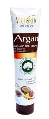 Victoria beauty argan hand and nail cream 100 ml. / Виктория бюти крем за ръце и нокти с арганово масло 100 мл.