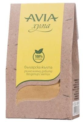 Avia clay jellow powder 250 g / Авиа жълта хума на прах 250 гр.