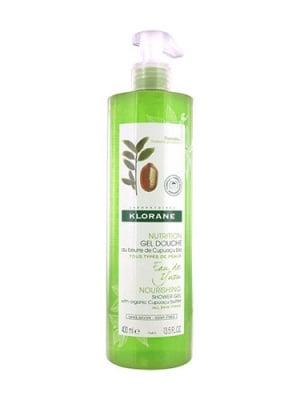 Klorane nourishing shower gel yuzu infusion 400 ml / Клоран душ - гел с вода юзу 400 мл
