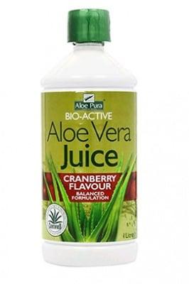 Aloe Pura Aloe Vera juice cranberry flavour 1l. Optima / Алое Вера сок от боровинка 1 л. Оптима