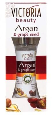 Victoria beauty argan liquid crystals with argan seed oil 50 ml. / Виктория бюти течни кристали с масло от арган и гроздово семе 50 мл.
