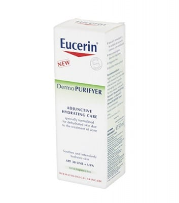 Eucerin DermoPurifyer hydrating cream SPF 30 50 ml / Еуцерин DermoPurifyer хидратиращ крем SPF 30 50 мл