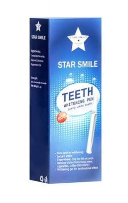 Star smile teeth whitening pen 2 g / Стар смайл гел за избелване на зъби 2 гр.