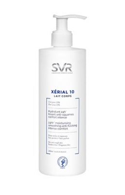 SVR Xerial 10 body fluid 400 ml / Ксериал 10 лосион за тяло 400 мл SVR