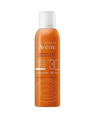 Avene Sunscreen silky mist SPF 30 150 ml / Авен Слънцезащитен сатенен спрей SPF 30 150 мл