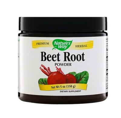 Beet root powder 150 g Nature`s Way / Червено цвекло прах 150 гр. Nature`s Way