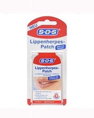 S.O.S Lip herpes patches  12 pcs / С.О.С. Лепенки против херпес за устни 12 бр.