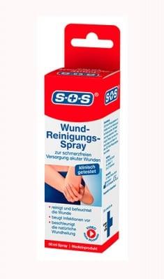 S.O.S. Wund cleansing spray 50 ml / С.О.С. Спрей за почистване на рани 50 мл