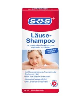 S.O.S. anti lice shampoo 100 ml / С.О.С. шампоан против въшки 100 мл