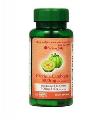 Puritan`s pride Garcinia cambogia 500 mg 60 capsules / Пуританс прайд Гарциния камбоджа 500 мг 60 капсули
