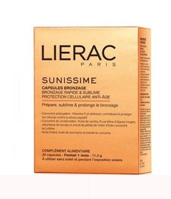 Lierac sunussime tanning  30 capsules / Лиерак Сънисим капсули за здравословен тен 30 капсули