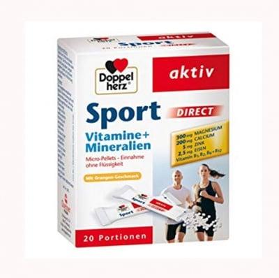 Dopellherz active sport direct 20 saches / Допелхерц актив  спорт директ 20 сашета