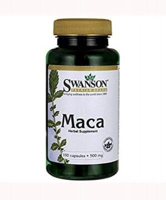 Swanson Maca 500 mg 100 capsules / Суонсън Мака 500 мг 100 капсули
