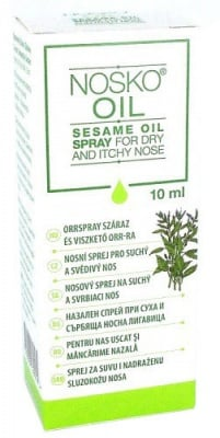 Nosko Oil spray for dry and itchy nose 10 ml / Носко ойл спрей за нос 10 мл